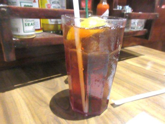 Ice Tea, Pea Soup Andersen's, Santa Nella, CA