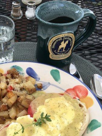 Stonewall Jackson Inn: Breakfast