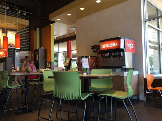 Drink Station Picture Of Zoes Kitchen Plano Tripadvisor