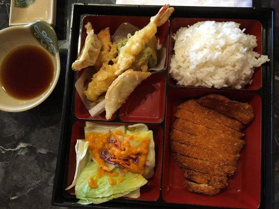 Aoba Japanese Restaurant: Great deal for lunch, $7.95 from Hot kitchen and $8.95 from Sushi bar. Don't forget $5 off by ch