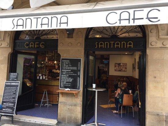 Restaurante cafe santana en san sebasti n con cocina otras - Cocinas san sebastian ...
