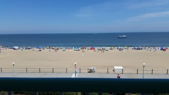 Virginia Beach View Of The From Our Hotel Balcony