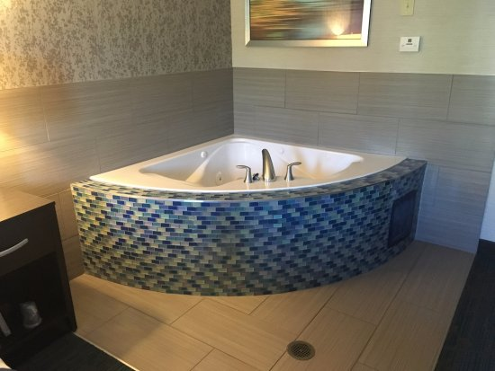Holiday Inn Express Hotel & Suites Knoxville-Farragut: The jacuzzi was a pleasant surprise.