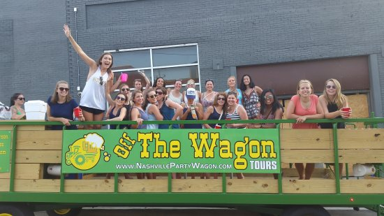 ‪Off The Wagon Tours - Nashville Party Wagon‬
