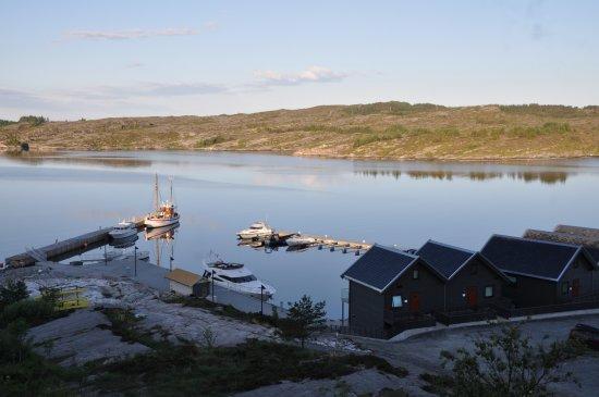 Steinsland, Norway: 飯店附設的碼頭