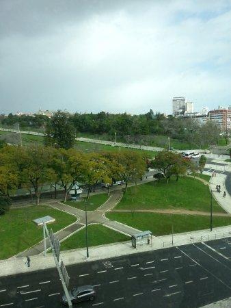 HF Fenix Garden: Vista do quarto do Parque Eduardo VII