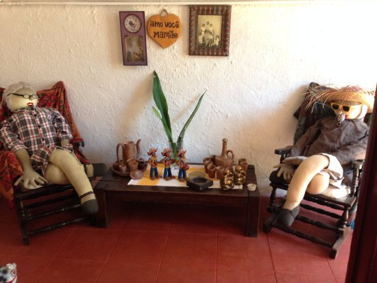 Pousada Casa de Chica: Hall de entrada
