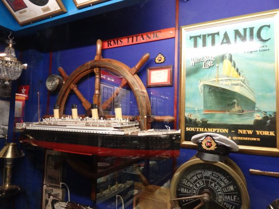 St Austell, UK: Titanic Exhibit