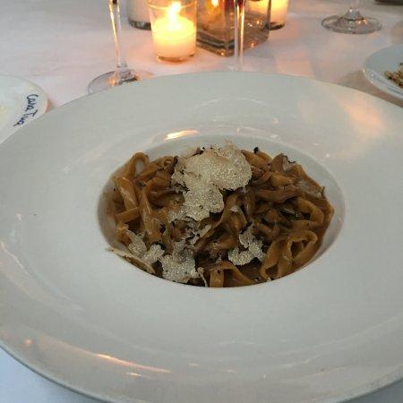 Casa Tua: Pasta with mushrooms and truffles.