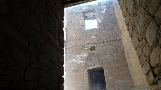 Aztec, Nowy Meksyk: inside the ruins