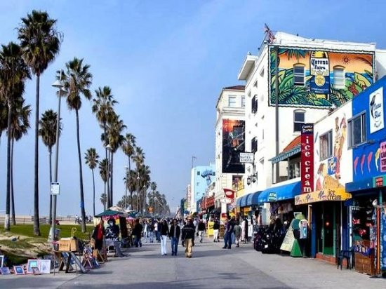 Image result for venice beach boardwalk