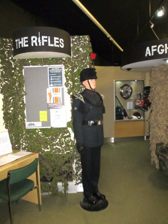 display, Royal Green Jackets (Rifles) Museum,Winchester - Picture ...
