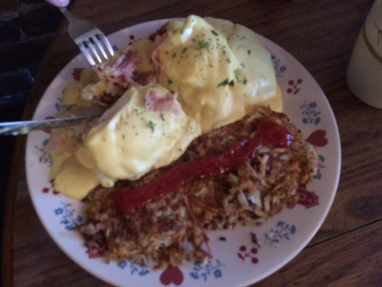 Waterville, WA: eggs bendedict