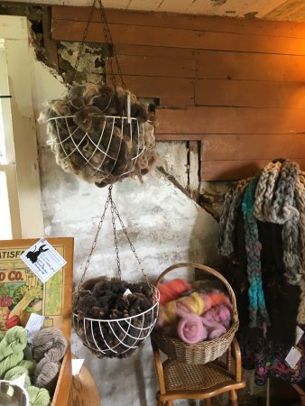 Black Cat Farmstead: Wool from sheep raised at the farm