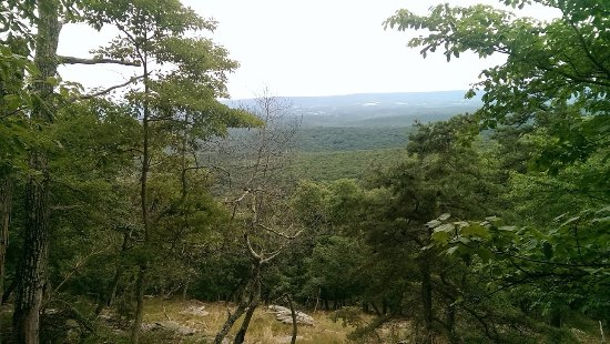 Berkeley Springs, Virginia Occidental: View from Ziller loop