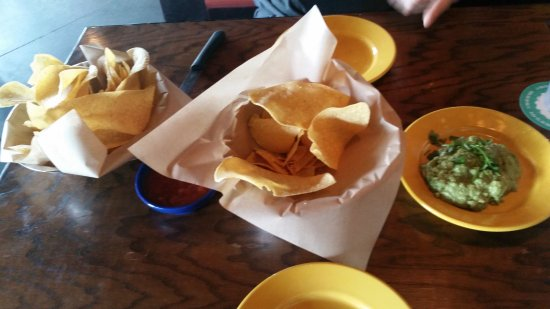 Rocky Hill, CT: Tortilla Chips (x2) and Guacamole