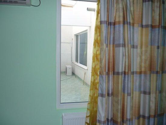 Marea Neagra Hotel: My room window.