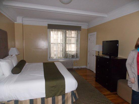 """BEST WESTERN PLUS Hospitality House: la chambre """"parentale"""""""