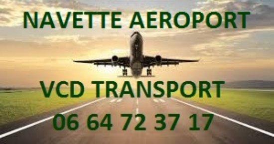 Les Ecrennes, Francia: Navette Aéroport