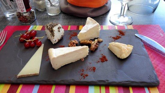 La Pause: Le plateau de fromages