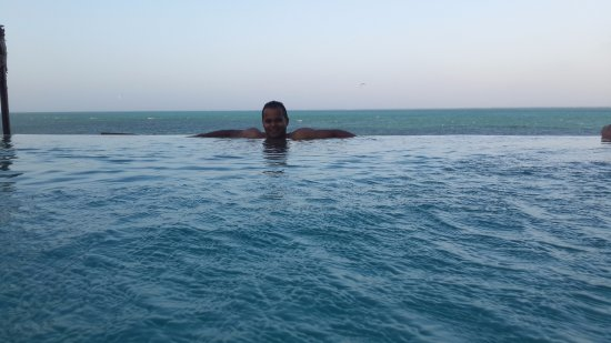 Coral Rock Zanzibar: chilling by the pool