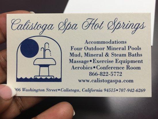 Calistoga Spa Hot Springs: photo0.jpg