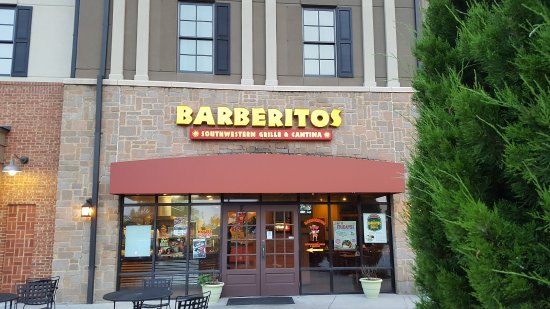 Barberitos Southwestern Grille Cantina Statesboro Restaurant