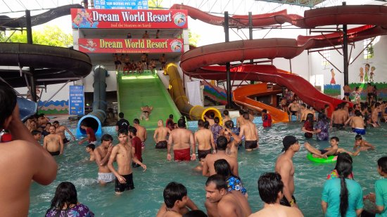 Lucknow, India: Water Park