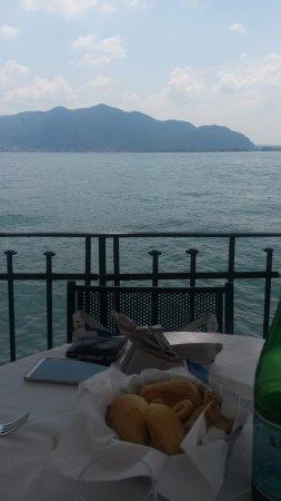 Predore, Italië: il nostro tavolo