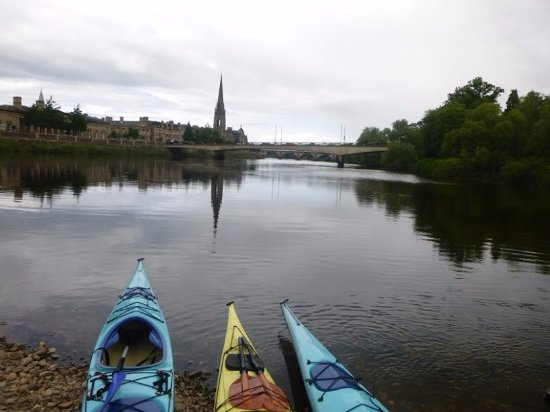 Blairgowrie, UK: Kayaking on the River Tay, Perth