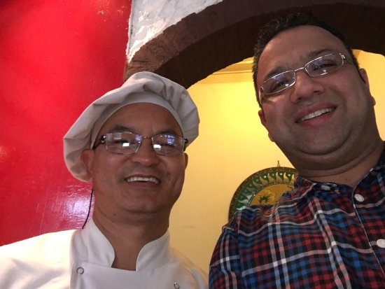 Mount Everest: The friendly Chef Gurung!