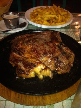Restaurante Chipi Chipi: buena carne roja