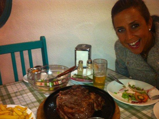 Restaurante Chipi Chipi: ensaladas y carne