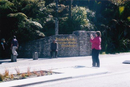 Punakaiki, Nueva Zelanda: Entrance