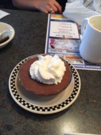 Hammonton, Nueva Jersey: Chocolate Pudding