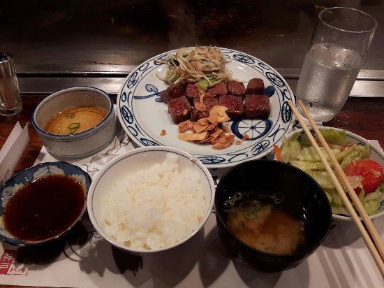 e0b09b0ca030 Kobe steak lunch set - Picture of Steakland Kobe