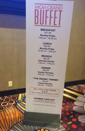 Surprising Price Outside Buffet Picture Of Mgm Grand Buffet Las Download Free Architecture Designs Scobabritishbridgeorg