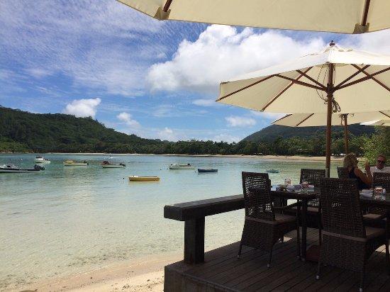 Anse La Mouche, Seychellerna: Restaurant DelPlace, Mahe, Seychelles