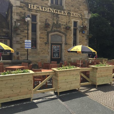 Headingley, UK: New Beer Garden