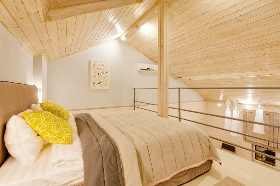 Golikovo, Ρωσία: Апартаменты в стиле Стокгольм - спальня