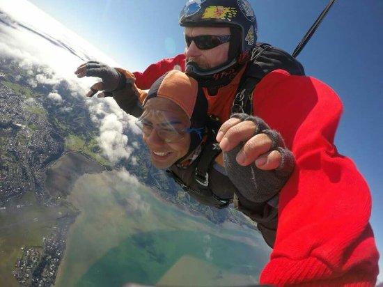 วานกาไร, นิวซีแลนด์: amazing day! with instructor Jim Scott :)