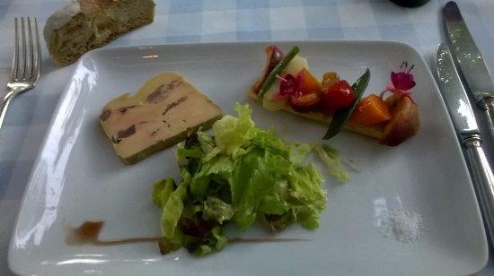 Tavel, Francia: Foie gras! Une tuerie!!!!