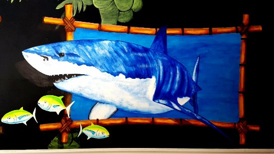 The Beach Grille: Mural