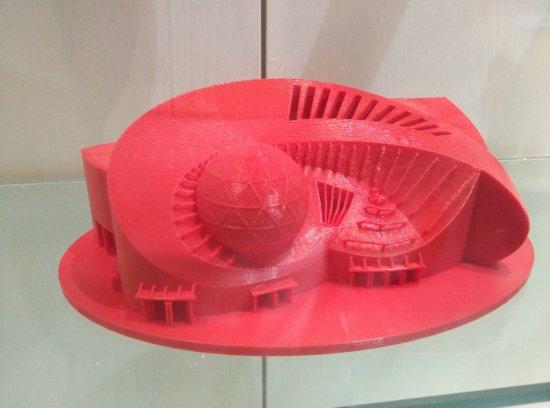 Nanning, China: 3D printing model