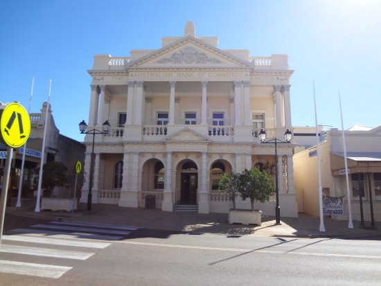 Charters Towers, Australia: the original Building that is now the front of the World Theater