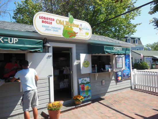 Turkey BLT wrap - Picture of Old Harbor View Takeout, New Shoreham ...