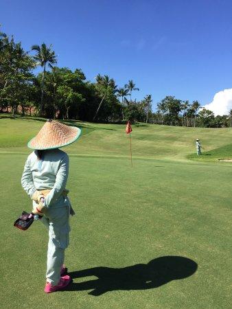 Nirwana Bali Golf Club: Great caddies