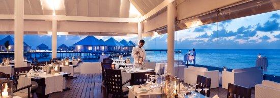 Thudufushi Island: Water Villa Restaurant