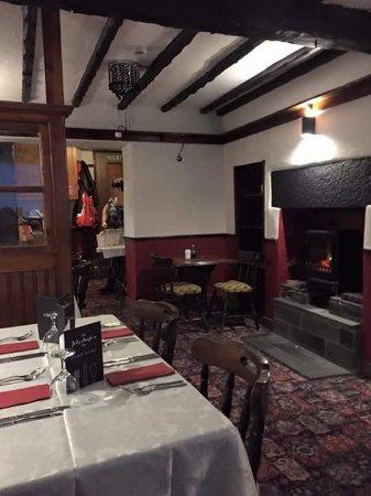 Kendal, UK: Dining room