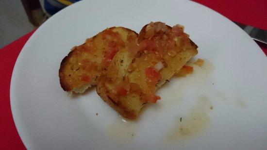 La Boca, Cuba : Pan aperitivo